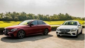 Mercedes C-Class, E-Class, S-Class