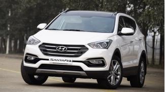 Hyundai SantaFe 2.4 AT 2WD may xang 2016