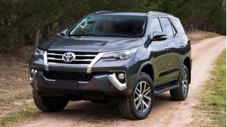 Toyota Fortuner 2.4G 4x2 MT 2017