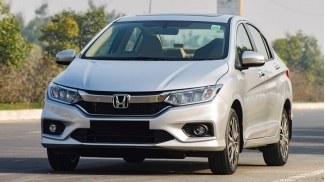 Honda City 1.5 CVT TOP 2017