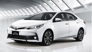 Toyota Corolla Altis 2.0V CVT 2018