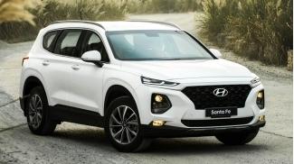 Hyundai SantaFe 2.2L 8AT 2WD May Dau 2019