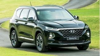Hyundai SantaFe 2.2L 8AT 4WD May Dau (dac biet) 2019