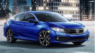 Honda Civic E 1.8L CVT 2019