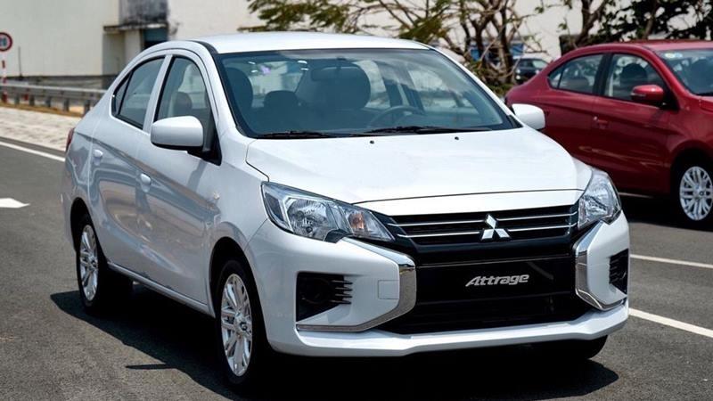 Mitsubishi Attrage - Đánh giá xe, so sánh, tư vấn mua xe