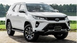 Toyota Fortuner Legender 2.8L 4x4 AT 2021