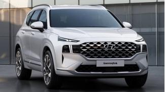 Hyundai SantaFe 2.5 Xang Cao cap 2021