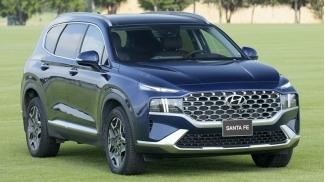 Hyundai SantaFe 2.2 Dau Cao Cap 2021