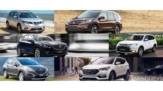 Mua xe SUV gam cao 5 cho gia 1-1,2 ty dong nam 2017