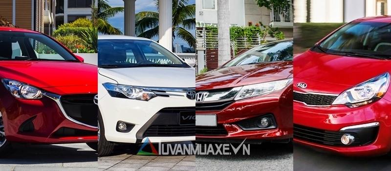 Doanh so ban xe Sedan - Hatchback hang B tai Viet Nam thang 5/2017