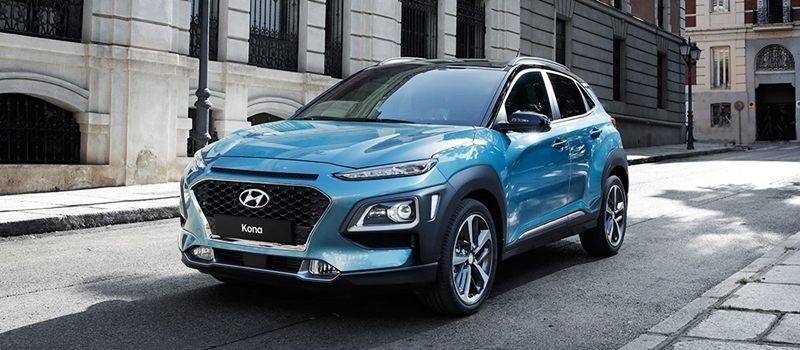 Hyundai Kona 2018 chinh thuc ra mat - canh tranh Ford EcoSport