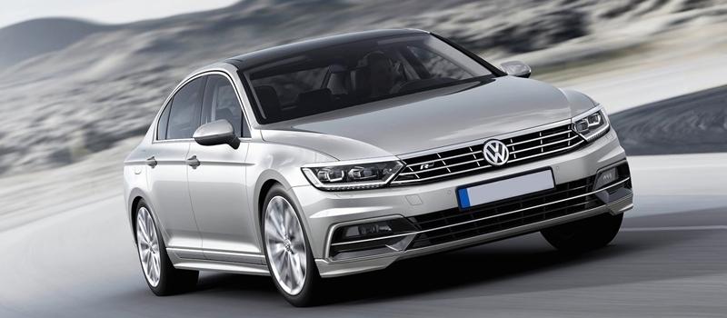 Volkswagen Passat 2016 chuan bi ra mat tai Viet Nam
