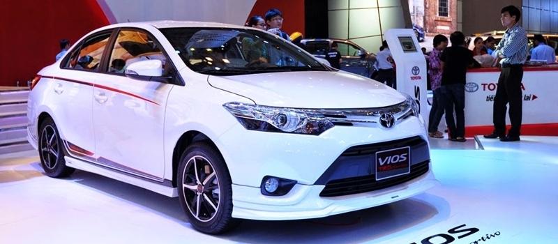 Toyota Vios TRD 2017 ban ra tai Viet Nam, gia 644 trieu dong