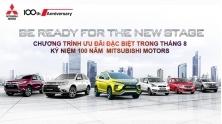 Chuong trinh khuyen mai xe Mitsubishi Viet Nam thang 8/2017