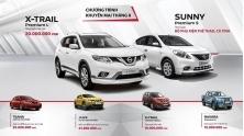 Chuong trinh khuyen mai mua xe Nissan Viet Nam thang 8/2017