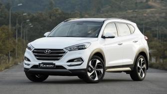 Gia ban xe Hyundai Tucson lap rap trong nuoc tu 815 trieu dong