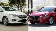 So sanh xe Mazda 3 va Honda City 2017