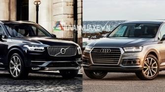So sanh xe Audi Q7 va Volvo XC90 2018 tai Viet Nam