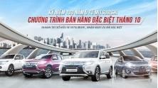 Chuong trinh khuyen mai xe Mitsubishi Viet Nam thang 10/2017