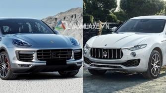 So sanh xe Maserati Levante va Porsche Cayenne 2018
