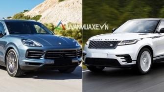 So sanh xe Porsche Cayenne va Land Rover Range Rover Velar 2018
