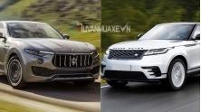 So sanh xe Maserati Levante va Land Rover Range Rover Velar 2018