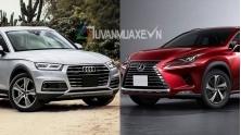 So sanh xe Audi Q5 va Lexus NX 300 2018