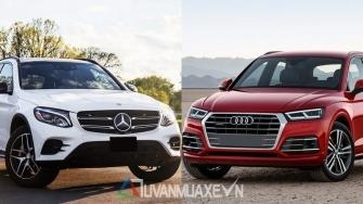 So sanh xe Mercedes GLC va Audi Q5 2018