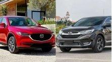 So sanh xe Mazda CX-5 2018 va Honda CR-V 2018 ban cao cap
