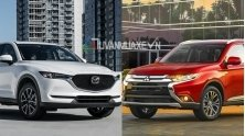 So sanh xe Mitsubishi Outlander va Mazda CX-5 2018