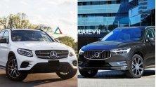 So sanh xe Mercedes GLC va Volvo XC60 2018