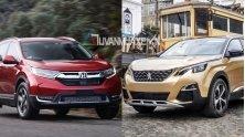 So sanh xe Honda CR-V 2018 va Peugeot 5008 2018