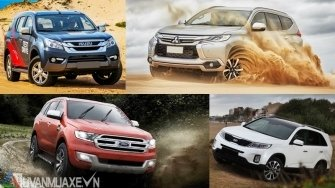 Lua chon xe SUV 7 cho thay the Toyota Fortuner dau nam 2018