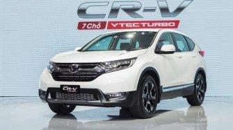 Honda CR-V 2018 chinh thuc ban tai Viet Nam, gia tu 1,136 ty dong