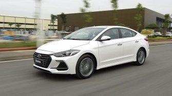Hyundai Elantra Sport 2018 dong co 1.6L Turbo ban ra tai Viet Nam