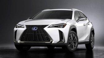 Lexus UX 2019 hoan toan moi - doi thu cua BMW X1, MINI Countryman