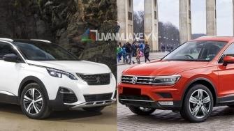 So sanh xe Volkswagen Tiguan Allspace 2018 va Peugeot 5008 2018