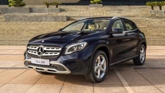Gia xe Mercedes GLA 2018 tai Viet Nam - GLA 200, GLA 250, GLA 45 AMG