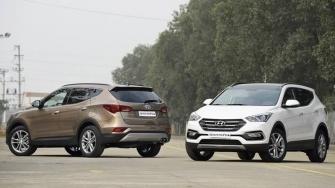 Gia xe Hyundai SantaFe 2018 tai Viet Nam - May xang va may dau