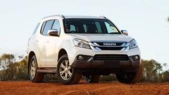 Gia xe Isuzu MU-X 2018 tai Viet Nam - SUV 7 cho may dau