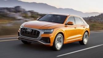 Audi Q8 2019 hoan toan moi - doi thu BMW X6, Mercedes GLE