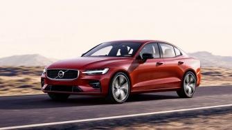 Volvo S60 2019 hoan toan moi - doi thu Audi A4, Mercedes C-Class
