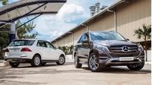 Gia xe Mercedes GLE 2018 tai Viet Nam - GLE SUV va GLE Coupe