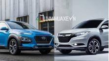 So sanh xe Hyundai Kona 2018 va Honda HR-V 2018 tai Viet Nam