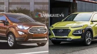 So sanh xe Ford EcoSport 2018 va Hyundai Kona 2018 tai Viet Nam