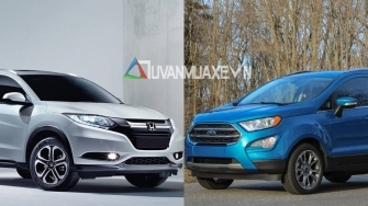 So sanh xe Ford EcoSport 2018 va Honda HR-V 2018 tai Viet Nam