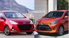 So sanh xe Hyundai Grand i10 va Toyota Wigo 2018 tai Viet Nam