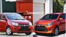 So sanh xe Suzuki Celerio 2018 va Toyota Wigo 2018 tai Viet Nam