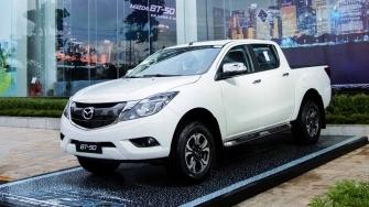 Mazda BT-50 2018-2019 phien ban moi nang cap ban ra tai Viet Nam
