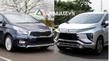 So sanh xe KIA Rondo va Mitsubishi Xpander 2018-2019